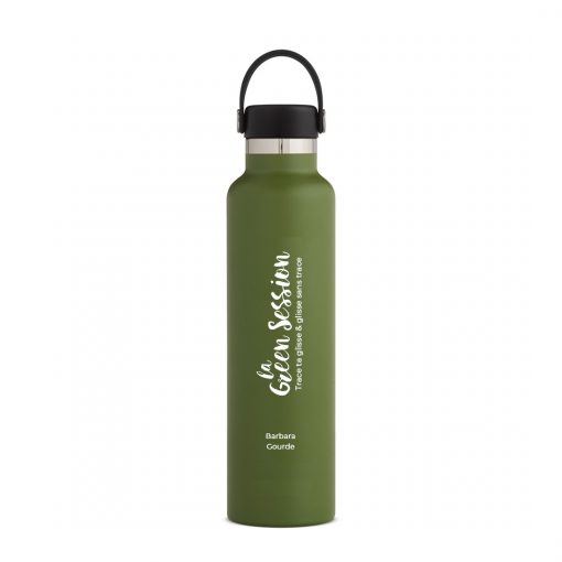 gourde isotherme 710 ml vert olive Hydroflask