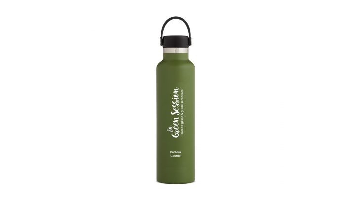 Gourde La Green Session x HydroFlask