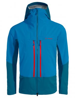 veste de ski de la marque Vaude. C'est le modèle Shuksan 3L homme bleu
