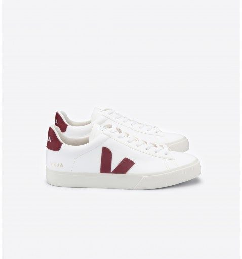 Chaussures VEJA Campo Easy White Marsala