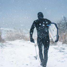 combinaison de surf hiver