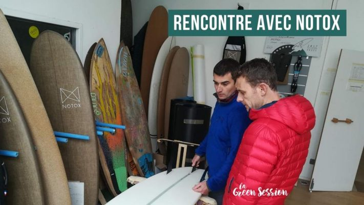 Rencontre entre La Green Session et Notox