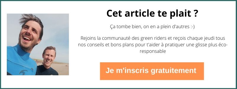 bouton vers page inscription newsletter La Green Session