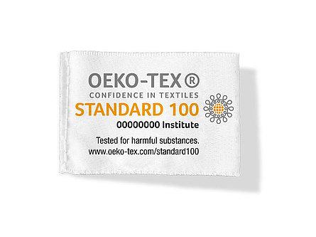 étiquette label Oeko-Tex standard 100