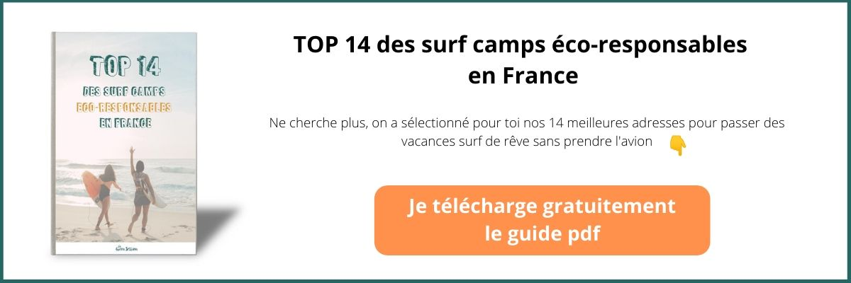bouton vers landing page ebook surf camps