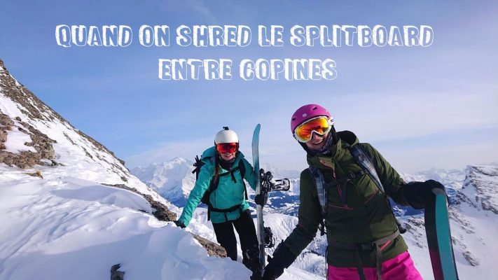 vignette article splitboard entre copines