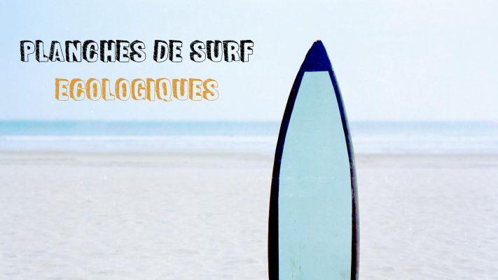 planche de surf écologique