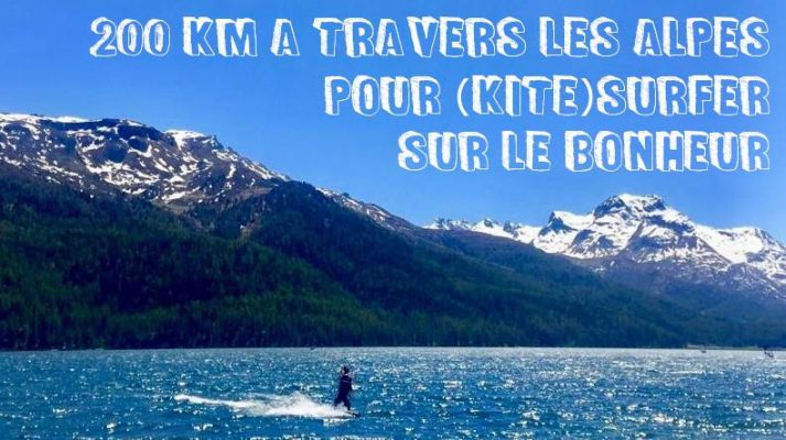 vignette article kitesurf dans les alpes