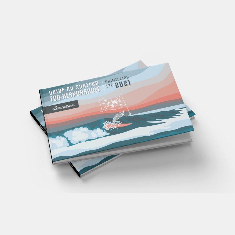 couverture guide du surfeur éco-responsable